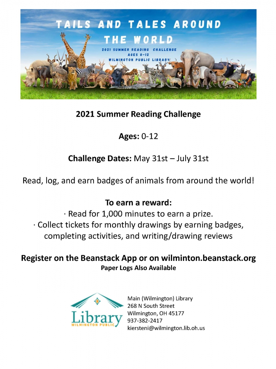 Link to summer reading challenge flyer