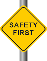 Safety First Graphic